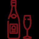 Vino y champagne
