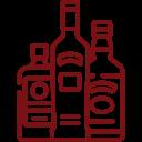 brandy y licores